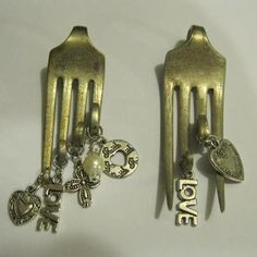 vintage silverware jewelry