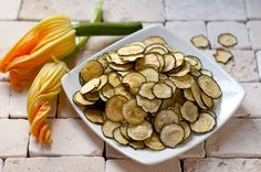 Zucchini Chips - baked!