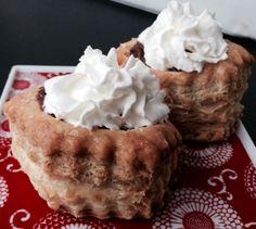 christmas desserts, chocol pud, christma dessert, puff recip, pastri