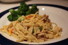 Near to Nothing: Chicken Spaghetti Casserole