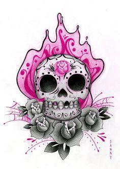 <3 the sugar skull!