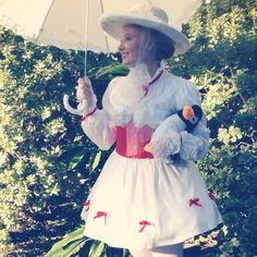 My DIY Mary Poppins costume for Race of the Dead 2013, New Orleans...won most creative costume. :)