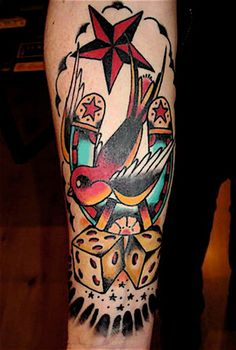Traditional Tattoo.