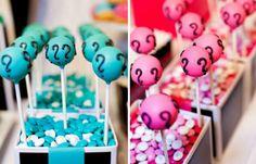 gender revealing ideas, baby cakepops, gender reveal parties, baby shower cakes, gender reveal cake pops, blue cakes, gender reveal cakes, babi shower, baby showers