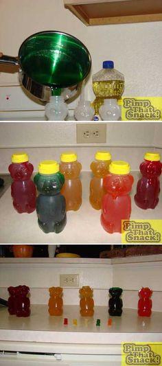 Giant Gummy Bear Tutorial
