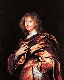 George Digby, by Sir Anthony Van Dyck; although a less successful soldier, Digby would become an increasingly powerful political rival to Rupert within the Royalist court during the second half of the English Civil War.