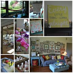 Girl Baby Shower~links included to where items were purchased!