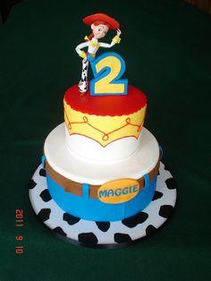 Jessie Toy Story Cake by valscustomcakes, via Flickr