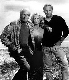 Paul Newman, Robin Wright Penn and Kevin Costner in Warner Brothers' Message In A Bottle - 1999