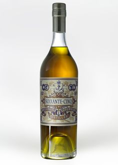 Absinthe Soixante Cinq. I like the nautical feel this label gives.
