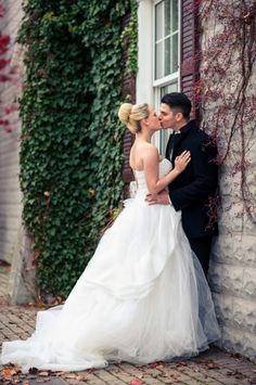 feel free to swoon over this gorgeous wedding gown because we sure did! see more gorgeous details from Weddings Tied With Lace here http://www.weddingchicks.com/vendor-guide/weddings-tied-lace-planning-design/ #winterwedding #classicweddinggown #weddingstiedwithlace