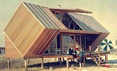 Small beach house.