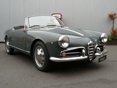 Alfa Giulietta Spider.