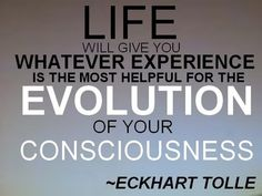 Quote by Eckhart Tolle.