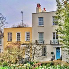 Georgian houses, South End Road, Hampstead #london #history #architecture