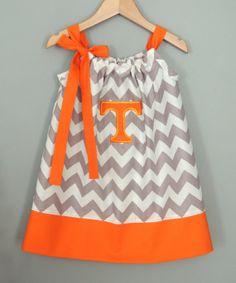Tennessee Chevron Pillowcase Dress. Too cute!