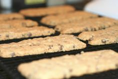 Melissa d'Arabian's Rosemary Chocolate Chip Shortbreads are delicious and easy.