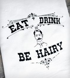 "The only thing that might make this better if it was be ""Harry"" and it was Harry Potter. ;) tea towel"
