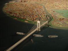 new york diorama