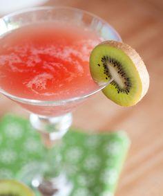 Cranberry Kiwi Martini