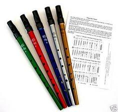 Irish Tin Whistle | Penny Whistles | Tin Whistles | Whistle Tutor Books | http://www.bigwhistle.co.uk