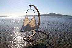 A true nautical nursery: featuring organic baby hammock by hushamok from New Zealand