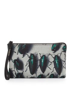 URBAN SAFARI - nothing about this Lanvin clutch is buggin'