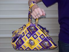 LSU casserole carrier by suejodesigns on Etsy, $15.00