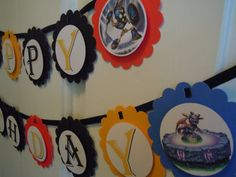 skylander party by morethanacupcake on etsy