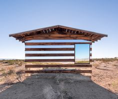 'Lucid Stead' light art installation by Phillip K. Smith III, photo: Steve King