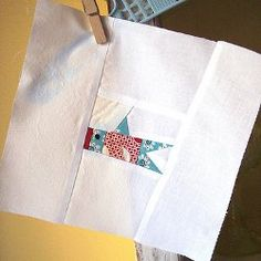 Gone Fishin Paper Piecing #Quilt Block by Penny Layman from Sewtakeahike
