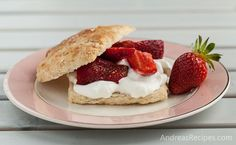 Wegmeyer Farms: Spring Strawberries (Brown Sugar Strawberry Shortcakes)