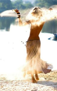 Walk Barefoot, Dance naked under the moon, play in the mud, Follow your intuition, let the fire of life move through you not just around you , feel love deeply, let the wind toss your hair and the sun touch your bare skin. Live the you that has stayed hidden. Let it go and be free. ~Barefoot Mama
