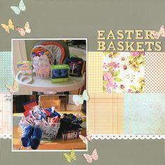 Easter Baskets - Scrapbook.com