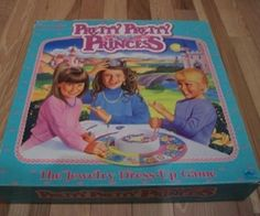 pretti princess, favorit game, princess board, board games, childhood memori