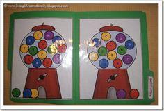 preschool activities, letter, file folder games, preschool file