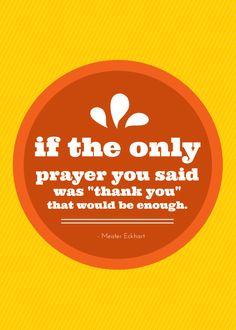 Inspiring #thanksgiv