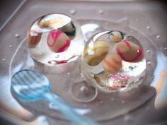和菓子 japanese sweets called wagashi
