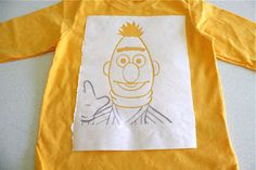 TUTORIAL: Ernie and Bert Shirts | MADE