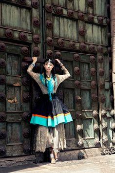 Patina Door Inspiration   Fashion Shoot in Peru for Vogue Korea   Sarah York Presents!