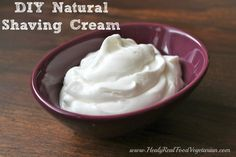DIY fluffy shaving cream, like the kind out of the can! diy natur, bodi, skin care, idea, diy shave cream, diy shaving cream, natur shave, homemad shave, homemad beauti