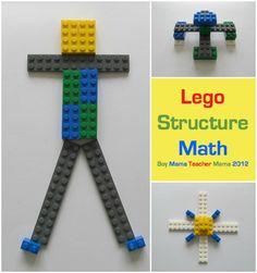 Lego Structure Math from Boy Mama Teacher Mama