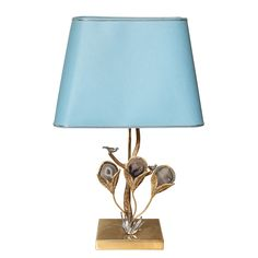 Willy Daro Agate Table Lamp