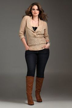 fall outfits plus size, jean, sweater, boot, plus size outfits for fall, fall outfits curvy, curvy style, plus size women, plus size fall outfits