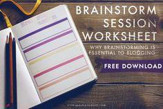 Why Brainstorming is