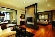tropical bedroom valencia residence, kuala lumpur by Allegro Design