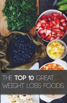 Victory Fitness: The Top 10 Great Weight Loss Foods