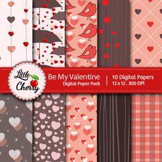 digit scrapbook, printabl digit, digital papers, digital scrapbooking, digit pattern, scrapbook paper, valentin, digit printabl, digit paper