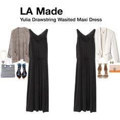 """Yulia Drawstring Wasited Maxi Dress"""