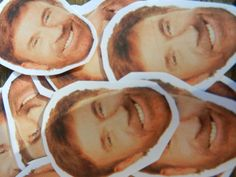 Chuck Norris stickers $3.00